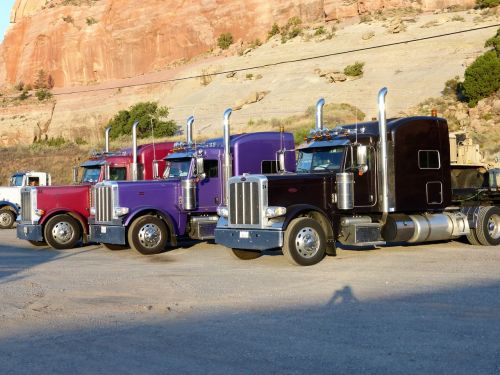 transport truck vehicle