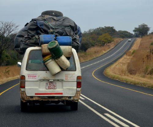 transport bus overloaded