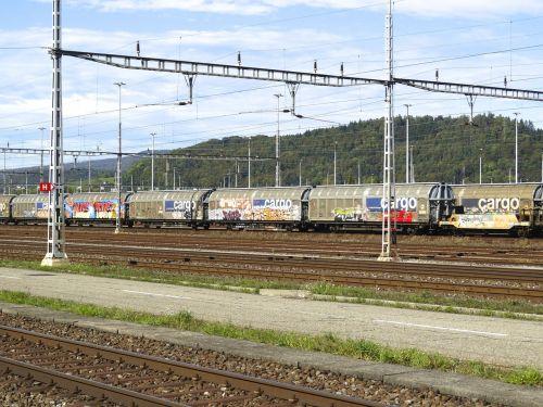 transport of goods cargo goods wagons