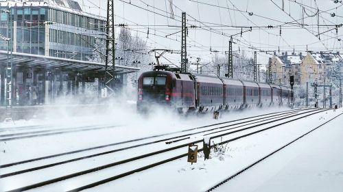 transport system train station