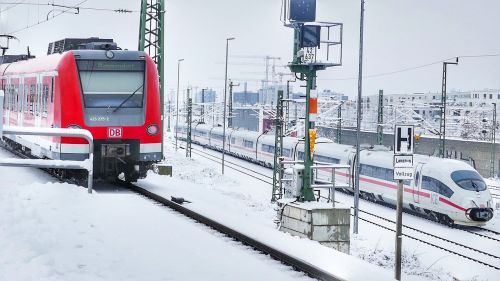 transport system winter snow