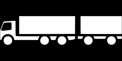 transportation truck trailer