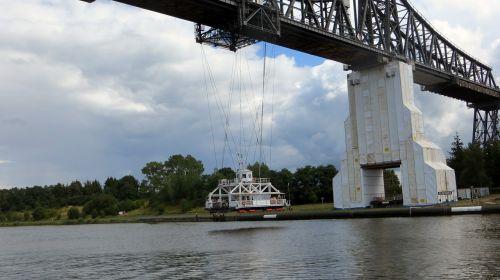 transporter bridge ferry bridge