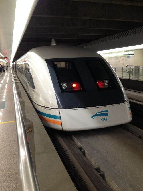 transrapid train fast