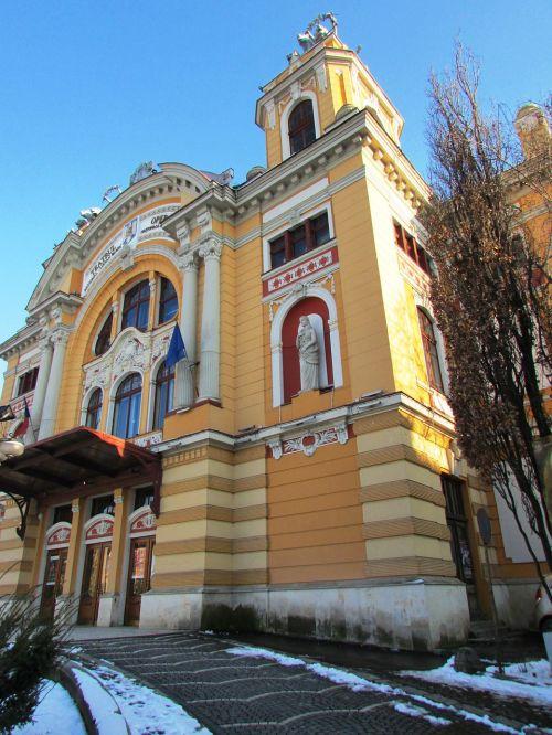 transylvania cluj napoca building
