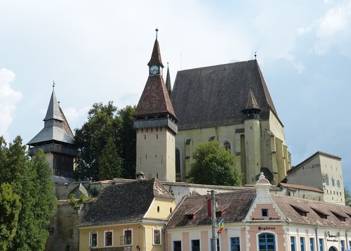 transylvania  romania  historic center