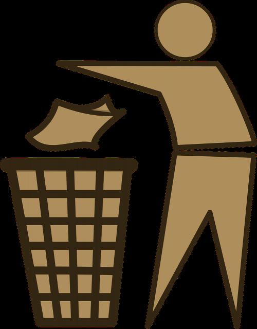 trash trashcan bin