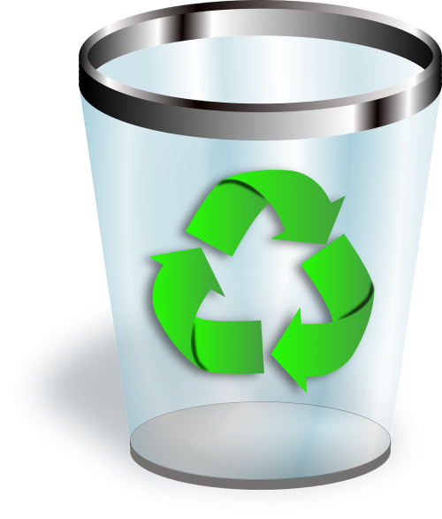trashcan recycle bin bin