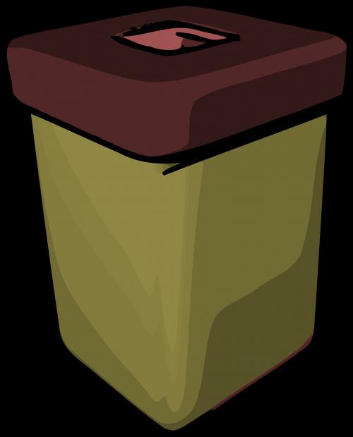 trashcan bin garbage
