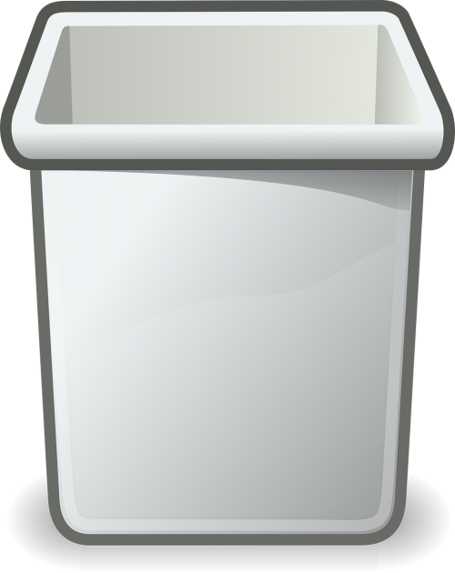 trashcan wastebasket recycle bin