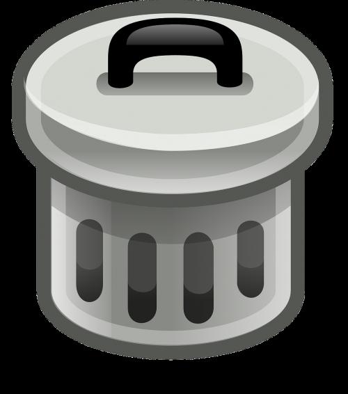trashcan rubbish bin