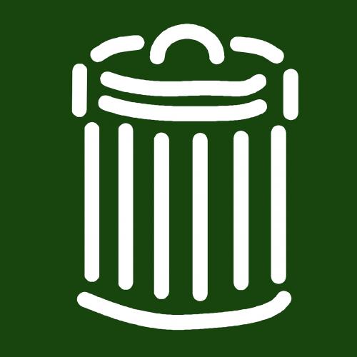 trashcan garbage bin