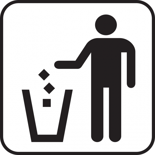 trashcan waste basket recycle
