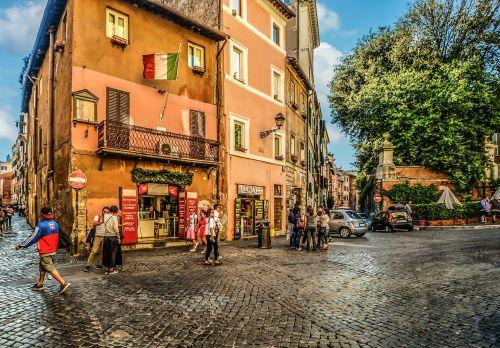 trastevere rome roman