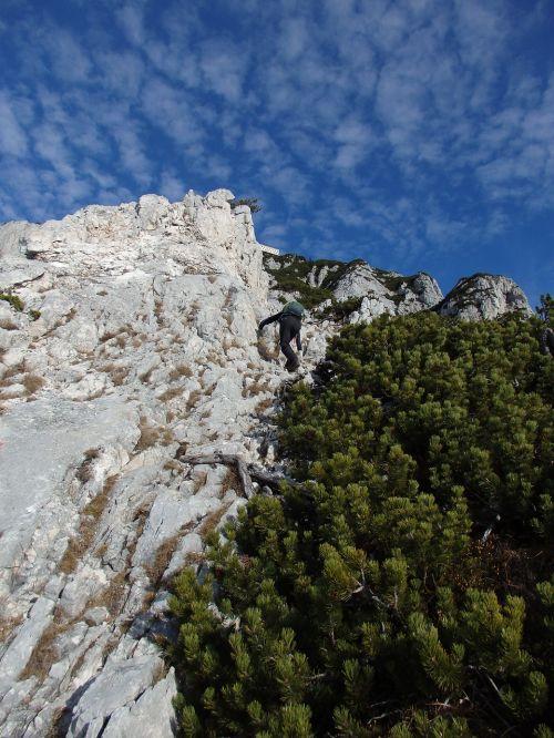 traunstein climb mountains