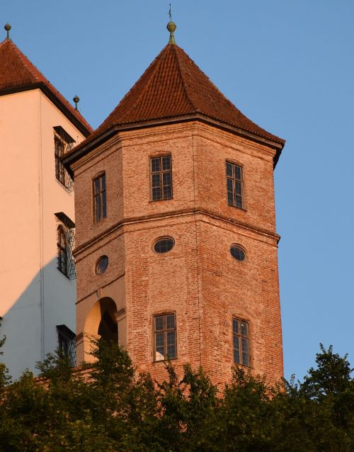 trausnitz castle tower middle ages