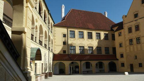 trausnitz castle landshut city