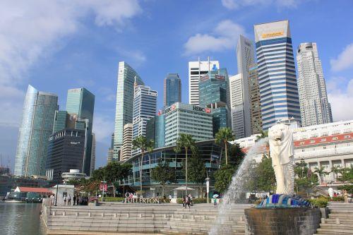 travel singapore merlion