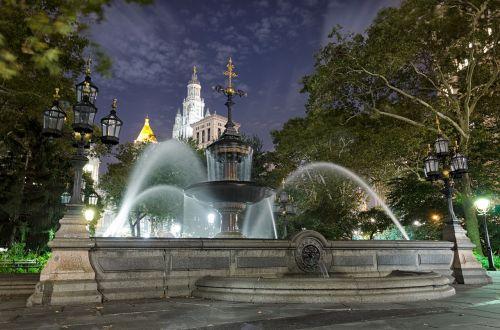 travel architecture fountain