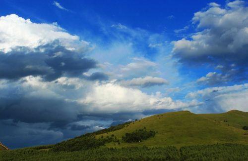 travel blue sky white cloud