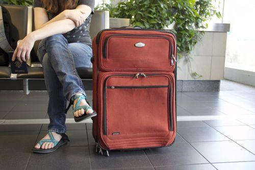 travel suitcase airport