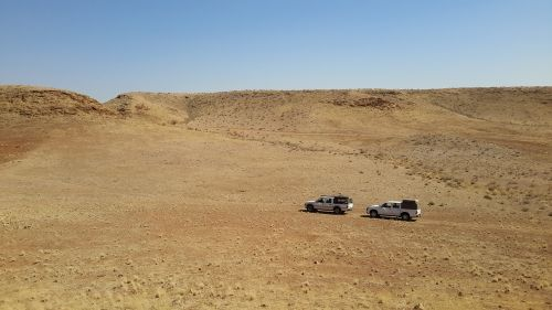 travelling camping namibia