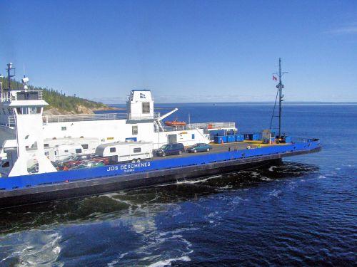 Ferry To Tadoussac