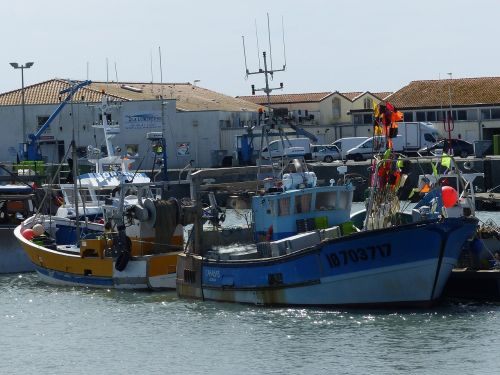trawler boats fishing