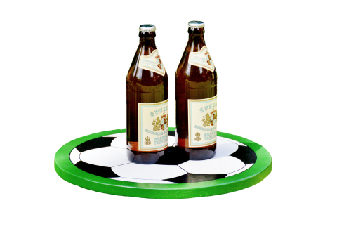tray wooden tray beer