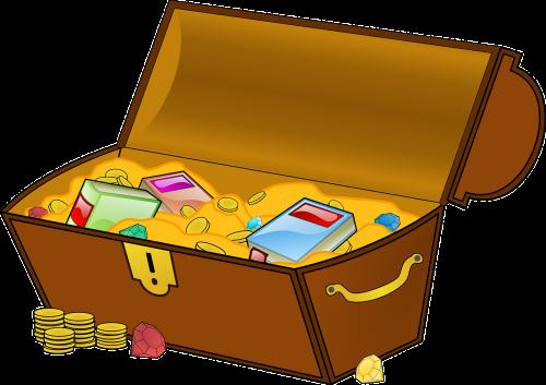 treasure treasure chest geocaching