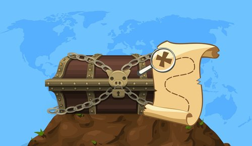 treasure  box  map