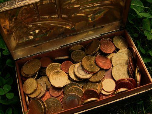 treasure treasure chest euro