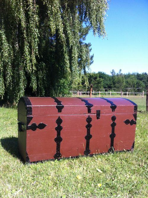 treasure chest treasure box