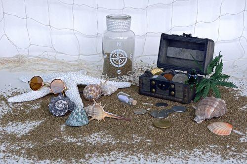 treasure chest sand squid