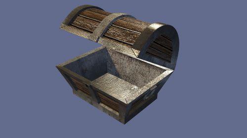 treasure chest woody box