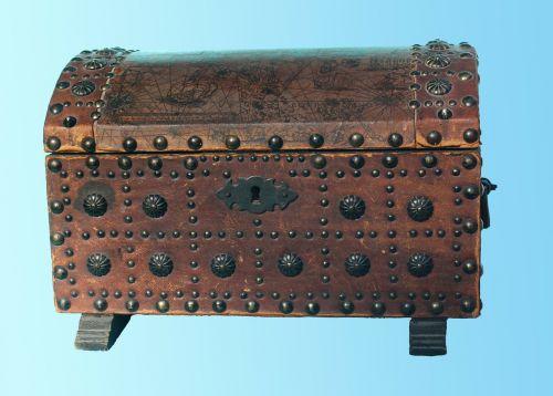 treasure chest chest box