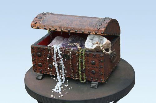treasure chest chest gems
