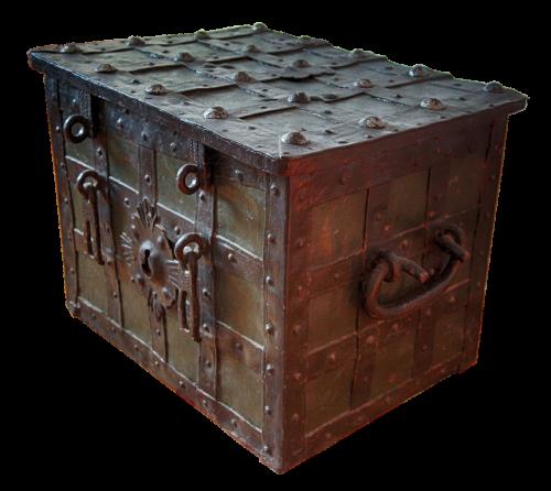 treasure chest money chest coin chest