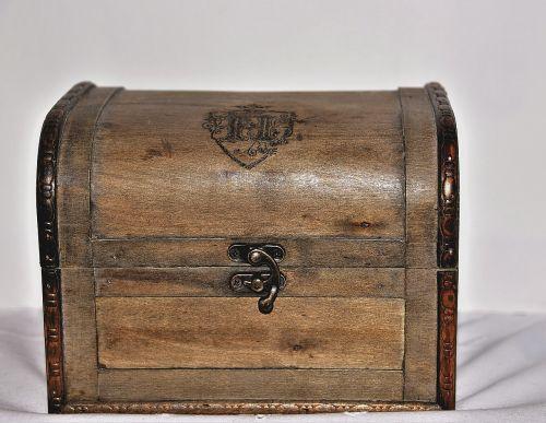 treasure chest wood chest