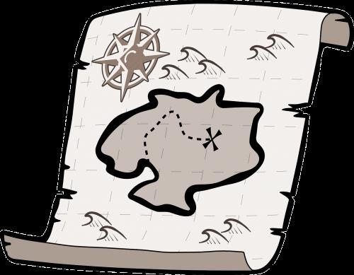 treasure map treasure hunt pirate treasure