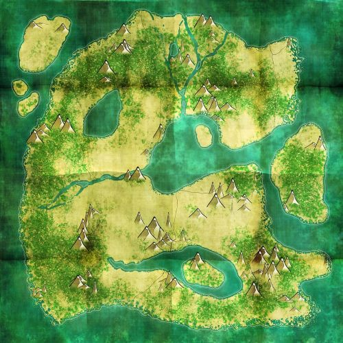 treasure map map old