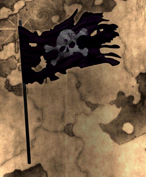 piratas, piratas & nbsp, skull & nbsp, vėliava, kaukolė & nbsp, vėliava, juoda & nbsp, piratų & nbsp, vėliava, plaukiojanti & nbsp, vėliava, juoda & nbsp, prakeikimas & nbsp, vėliava, sugadinta & nbsp, vėliava, lobis & nbsp, žemėlapis, lobių žemėlapis sugadintas piratų vėliava