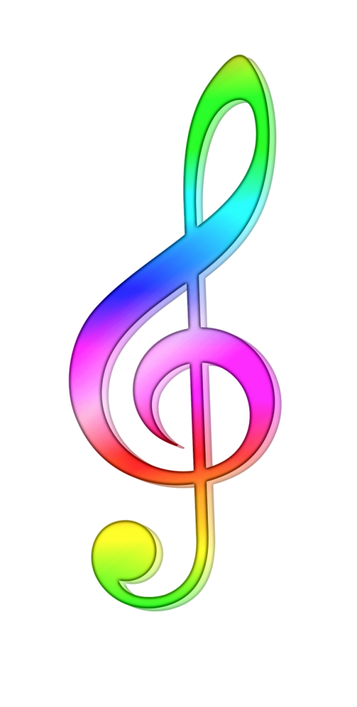 treble clef note staff