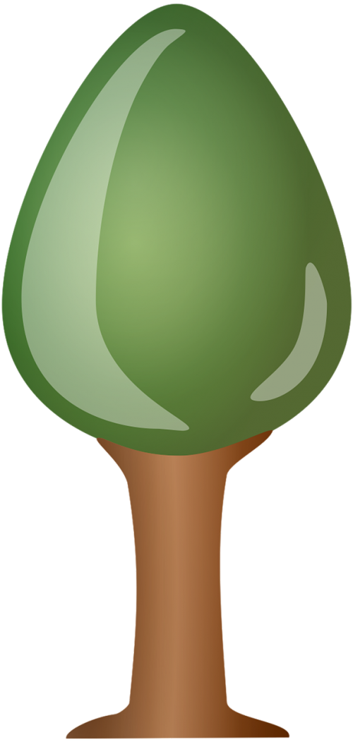 tree porcelain cartoon