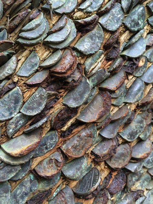 tree coins lucky charm