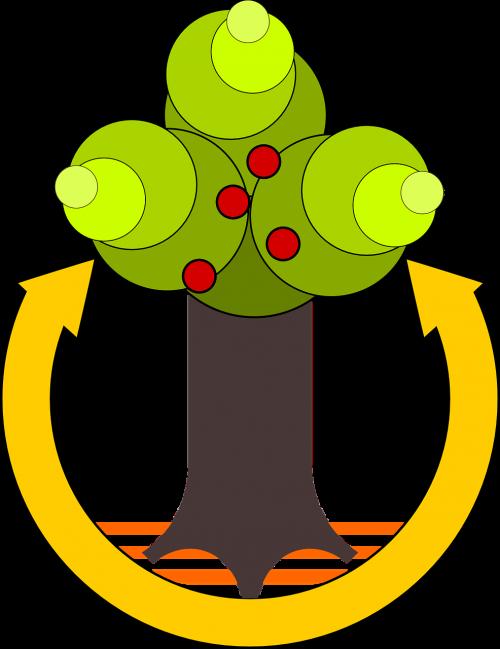 tree cycle arrow