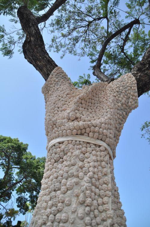 tree street art tree decoration