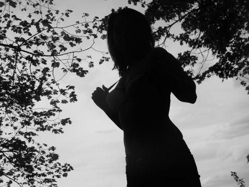 tree woman pose