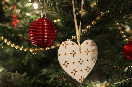 tree decorations christmas ornament heart