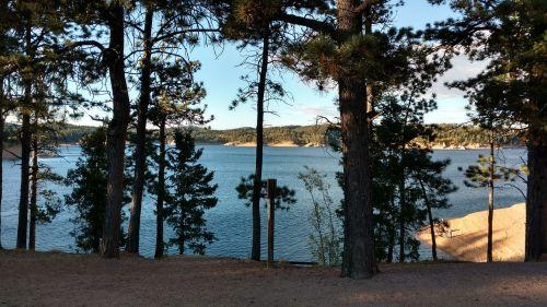 trees lake rampart reservoir